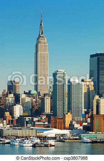 NEW YORK CITY EMPIRE STATE BUILDING - csp3807988
