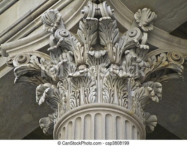 Corinthian Pillar - csp3808199