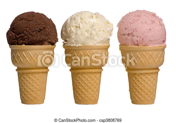 Ice Cream Flavors - csp3808769