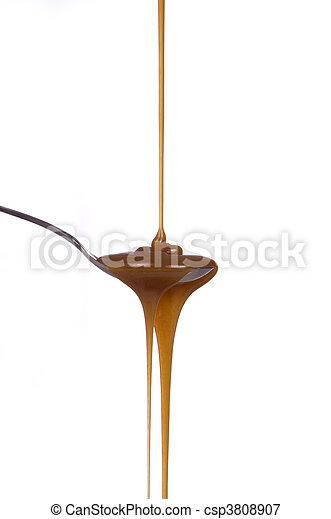 Caramel Syrup - csp3808907