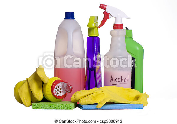 Cleaning Supplies 5 - csp3808913