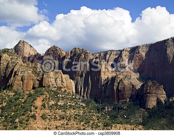 Zion National Park, Kolob Canyons - csp3809908