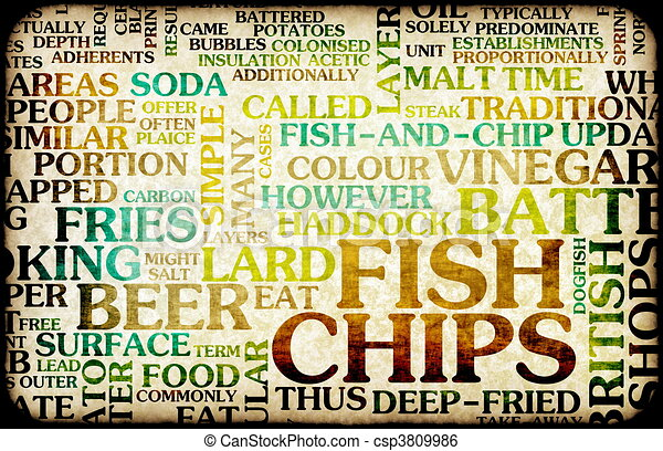 Fish and Chips - csp3809986