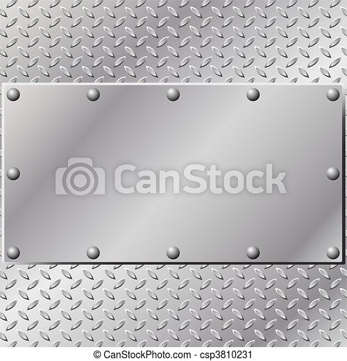 Metal Background - csp3810231