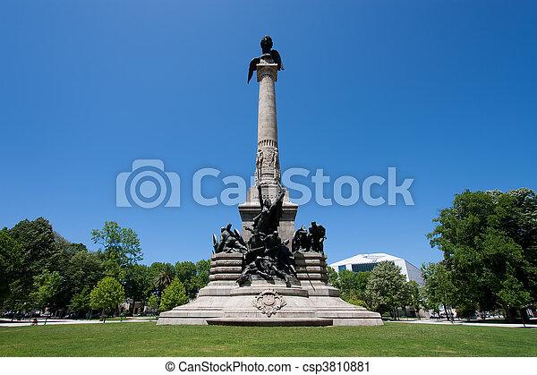 Landmark in Porto, Portugal - csp3810881