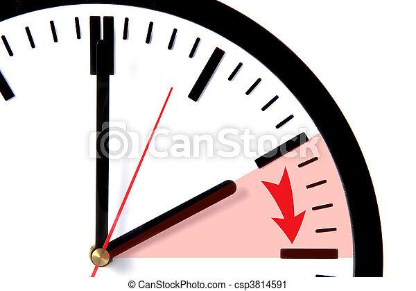 Daylight savings - csp3814591