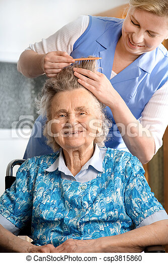 nursing home - csp3815860