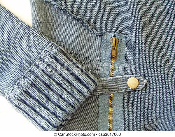 detail of a fashion garment - csp3817060