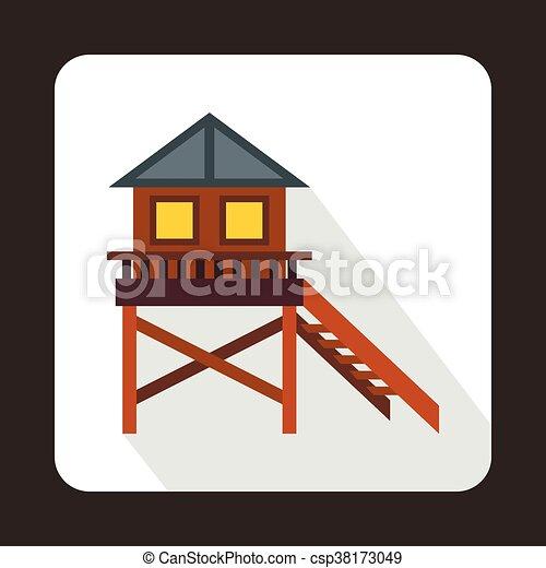 Appartamento stile trampolo legno casa icona for Piani di casa in stile ranch gratis