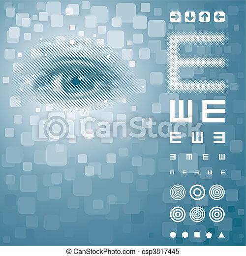 Vision Test - csp3817445