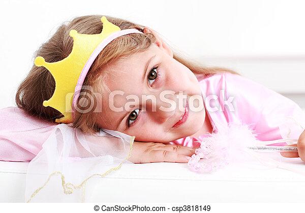 Little princess - csp3818149