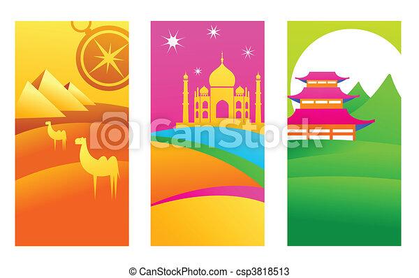Exotic destinations - csp3818513