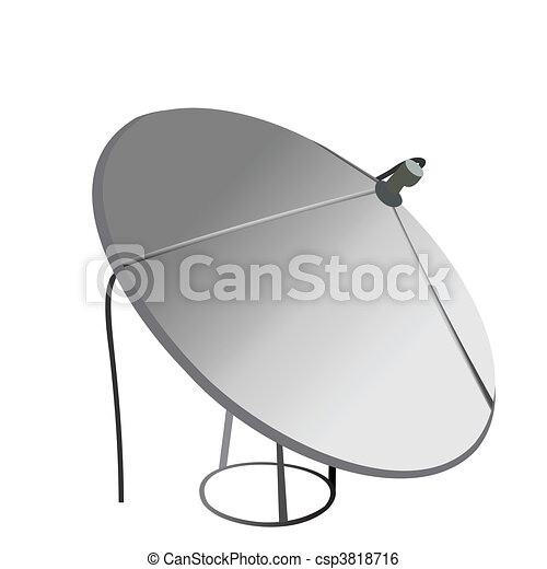 Satellite antenna - csp3818716