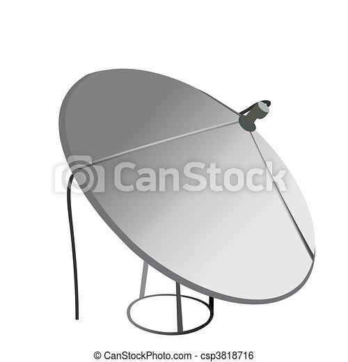 Satellite antenna - csp3818716