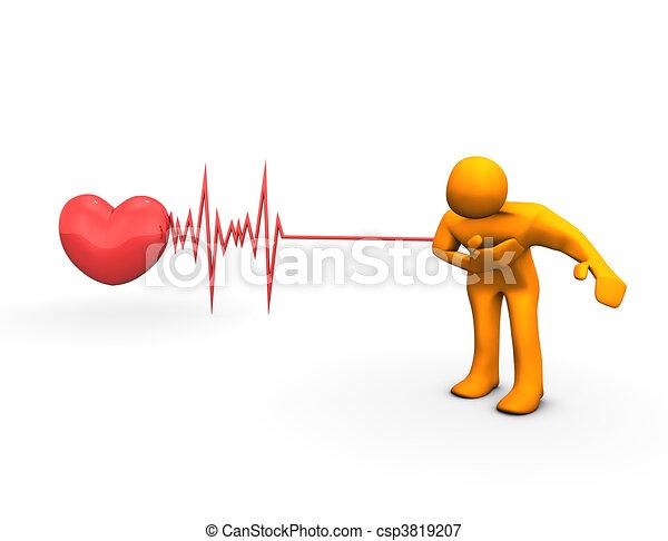 Heart Attack - csp3819207