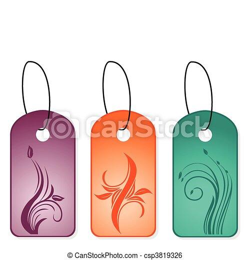 Clip Art Vector of Set bookmark designs - Illustration of set ...