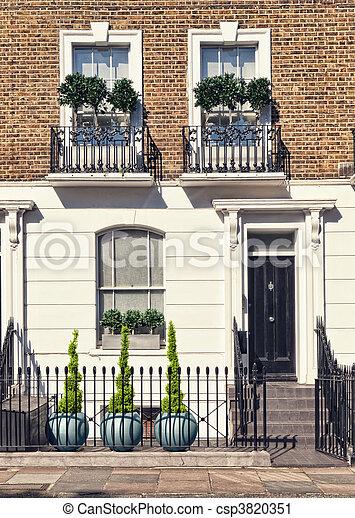 Apartments Building at West-London - csp3820351