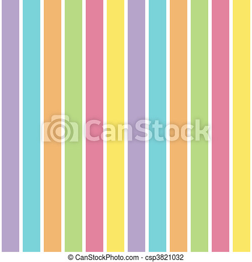 Pastel Stripes - csp3821032