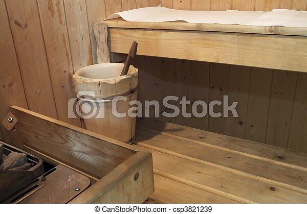 Sauna - csp3821239