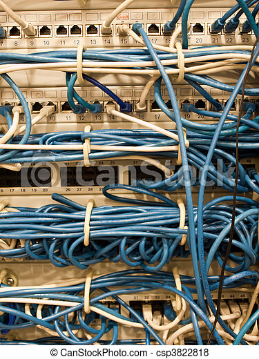 Network cables in datacenter - csp3822818