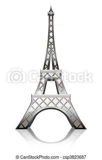 Eiffel tower - csp3823687