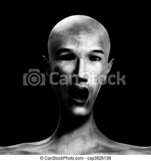 zombie, uomo - csp3826136