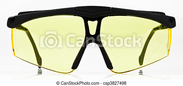 High Contrast Yellow Night Driving and Shooting Sunglasses Glasses