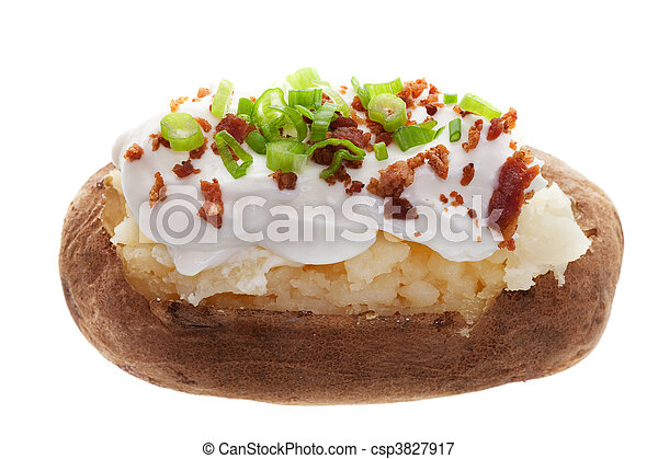 Baked potato - csp3827917