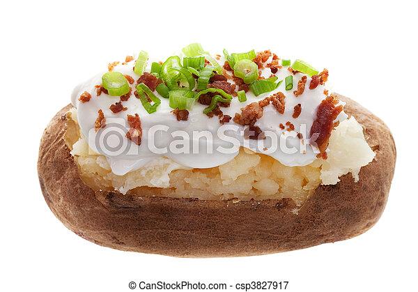 Baked potato - csp3827917