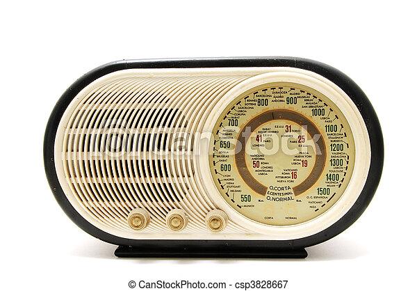 radio antica - csp3828667