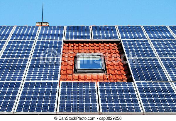 Solar energy panel - csp3829258