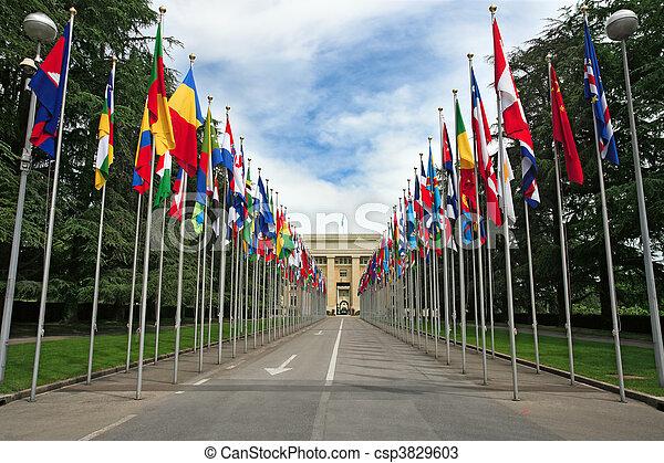 United Nations in Geneva - csp3829603