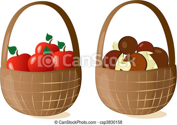 baskets filled - csp3830158