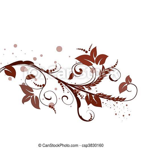 brown pattern - csp3830160