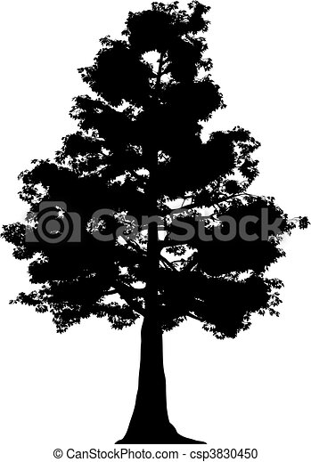 Tree (vector) - csp3830450