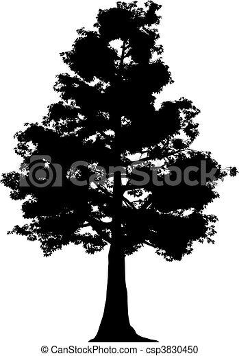Tree (vector) - csp3830450
