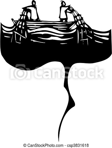 Oil Slick Net - csp3831618