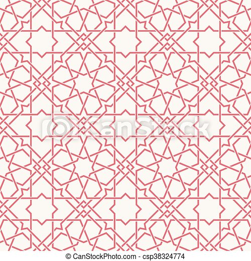 ... art icon, stock clipart icons, logo, line art, EPS picture, pictures Easy Arabesque Art