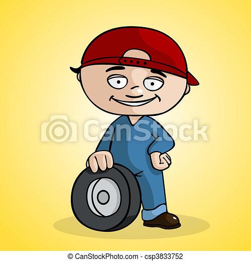 Tire changer - csp3833752