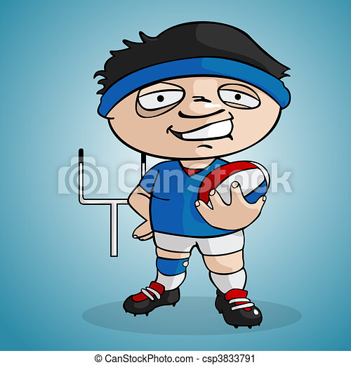 Rugby player - csp3833791