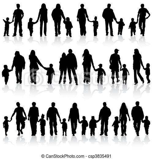 clip arte vetorial de cobrar  fam u00edlia  silhuetas grande family reunion clip art pictures family reunion clip art free