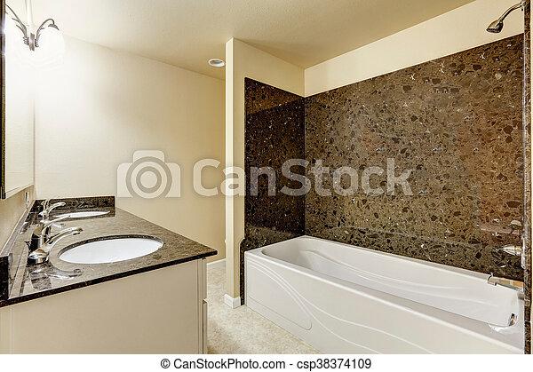 Stock fotografie von badezimmer modern inneneinrichtung for Badezimmer inneneinrichtung