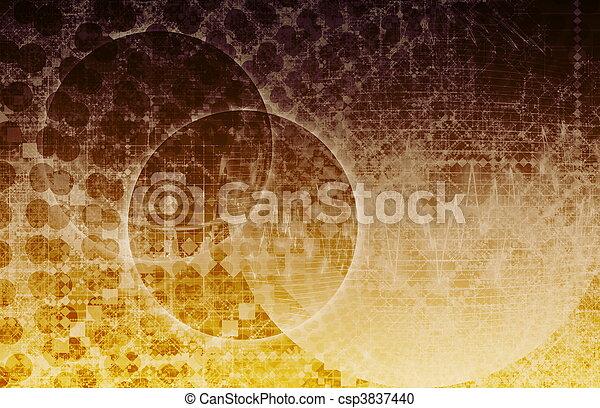 Alien Galaxy Planet Futuristic Horizon - csp3837440
