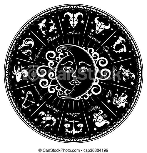 Zodiac signs - csp38384199