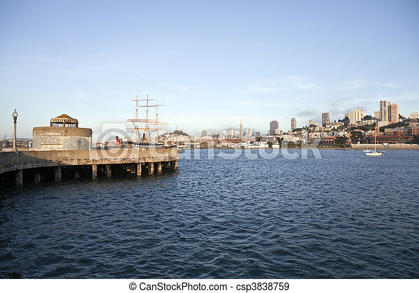 San Francisco National Historic Maritime Park - csp3838759