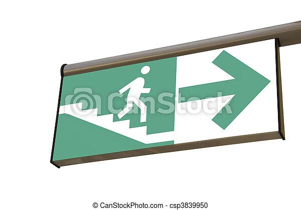 Pedestrian underpass - csp3839950