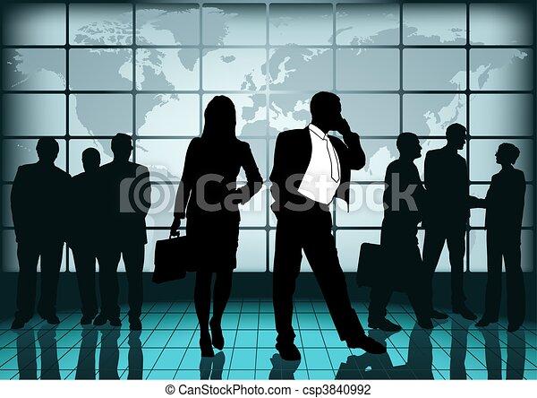 Business Cooperation - csp3840992