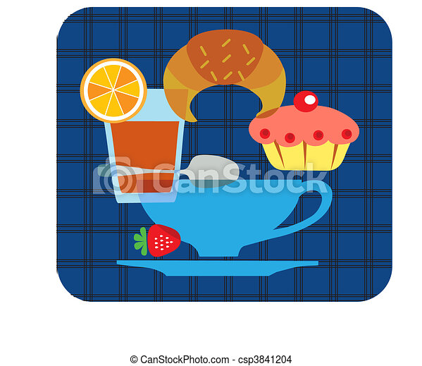 tasty tipical american breakfast set - 1 - csp3841204