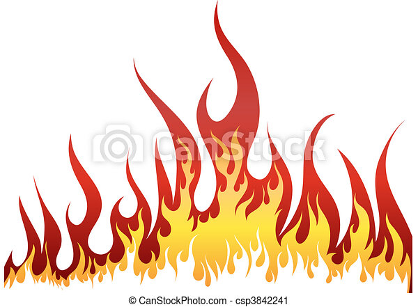 fire background - csp3842241