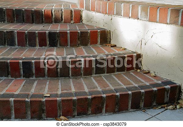 Stock de fotografos de curvo ladrillo escaleras multi - Escaleras de ladrillo ...